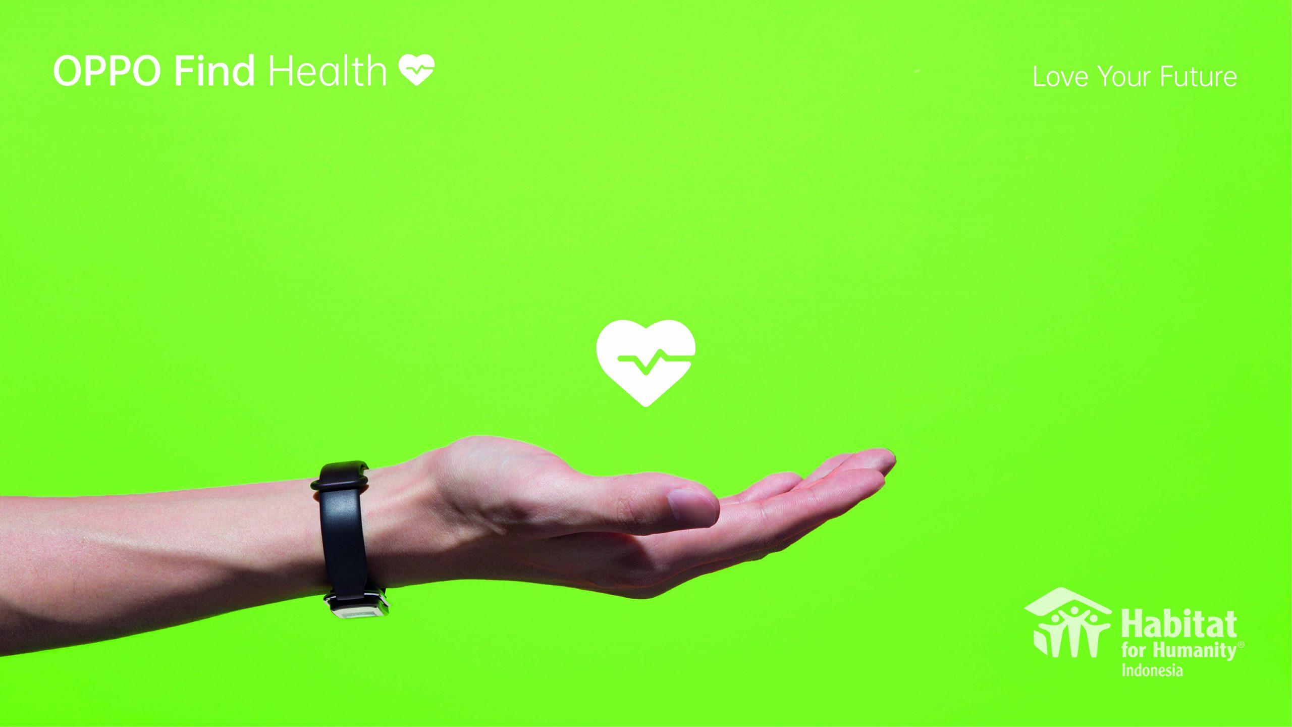 OPPO Find Health Memotivasi Masyarakat Hidup Aktif Sekaligus Peduli Tenaga Kesehatan