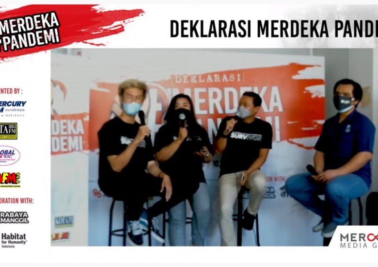 Mercury Media Group Dukung Habitat Indonesia Menyediakan Tempat Singgah Pejuang Medis 2021 dengan Mengusung Tema MerdekaPandemi!