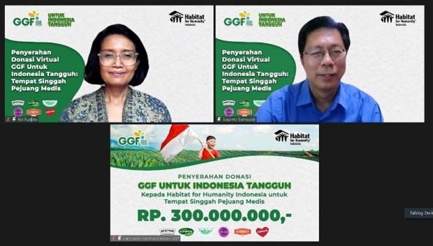 Sambut HUT ke 76 Republik Indonesia : GGF bersama Habitat Indonesia Mendukung Indonesia  Tangguh