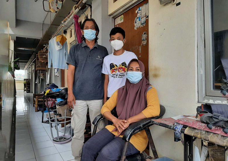 Schroders Indonesia Bersama Habitat Indonesia Membawa Harapan bagi Tenaga Kesehatan Surabaya dan Masyarakat Jogoyudan di Tengah Pandemi Covid-19